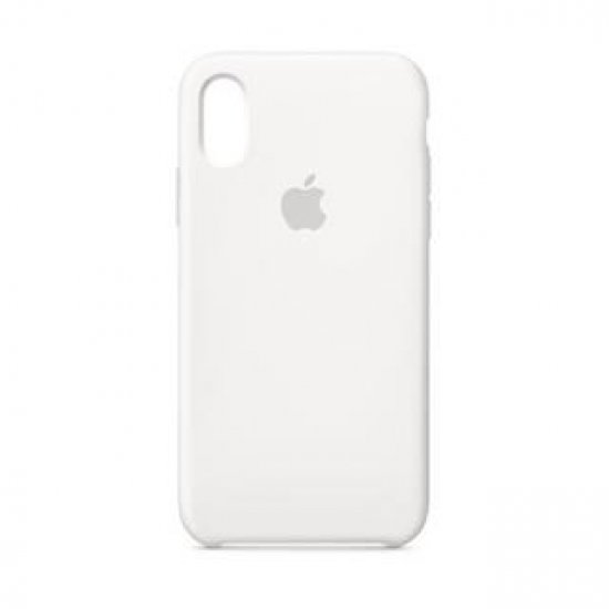 !IPHONE XS  SILICONE WHITE