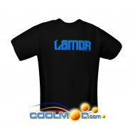 Camiseta LAMOR - Black - Talla XL