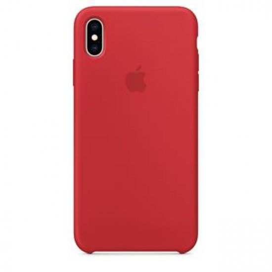 !IPHONE XS MAX SILICONE RED
