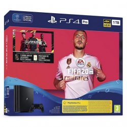 Sony PlayStation 4 Pro 1TB + FIFA 20 Ultimate Team + PS Plus 14 Dias