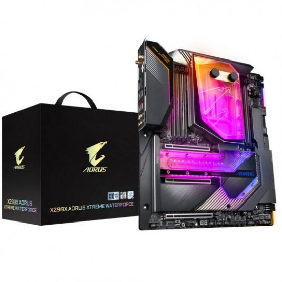 Gigabyte X299X Aorus Xtreme Waterforce - Motherboards - X299X AORUS XTREME WATERFORCE - Gigabyte - 4719331807467