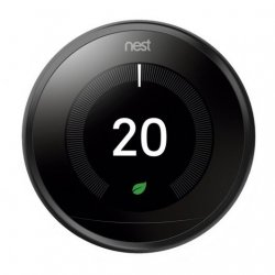 Nest Learning Thermostat 3ª Geração Termostato Inteligente Preto