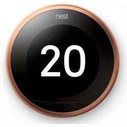 Nest Learning Thermostat 3ª Geração Termostato Inteligente Cobre