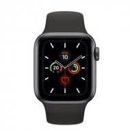 Apple Watch Series 5 GPS 40mm + Cellular Gris Espacial con Correa Deportiva Negra Reacondicionado