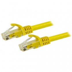 StarTech Cable de Red UTP Snagless Cat6 1.5m Amarillo
