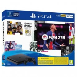 Sony consola PS4 500GB + FIFA 21